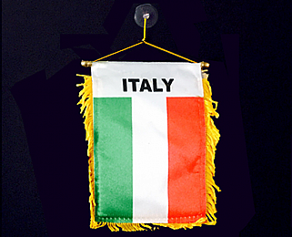 Italian Flag Decoration